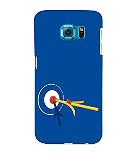 Target Shoot 3D Hard Polycarbonate Designer Back Case Cover for Samsung Galaxy S6 :: Samsung Galaxy S6 G920