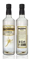 Skorppio Vodka with Scorpion