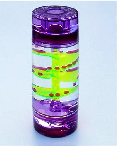 Clessidra Liquida Viola Tridimensionale Durata COLORATISSIMA CLESSIDRA IN PLEXIGLASS. Alta 15 cm. è un articolo utile e decorativo. Le sue gocce colorate scorrono in rotazione per una durata di 5/6 minuti. Minuti in plexiglass antiurto