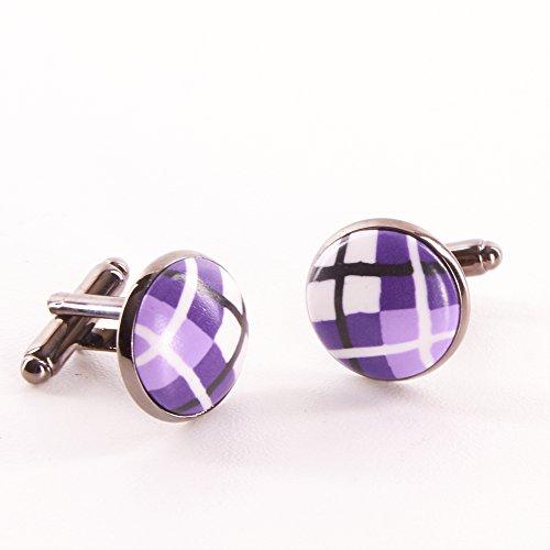 tartan-clay-cufflinks-purple