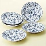 明和窯金陶苑 食器セット トスカーナ カレー皿 5枚セット 210774