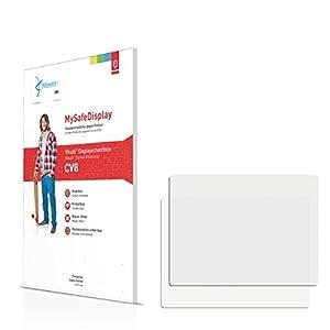 2x Vikuiti CV8 Film de protection écran pour Panasonic Lumix DMC-XS1 - QUALITÉ SUPÉRIEURE (ultraclaire, résistant aux éraflures, grande force adhérence)