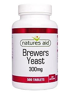 Natures aide de levure de bière 300mg 500 comprimés