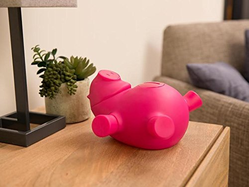 Quirky PPORK-PK01 Pink Porkfolio Smart Piggy Bank
