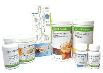 HERBALIFE Ultimate - Programm zur Gewichtskontrolle mit erhoehtem Proteinanteil - 6teilig mit Proteinbedarfsrechner 2 x Vanille - Lactosefrei, Glutenfrei, ohne Sojazusatz