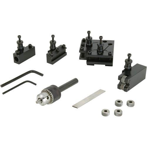 Steelex D4390 Mini Quick Change Tool Post Set