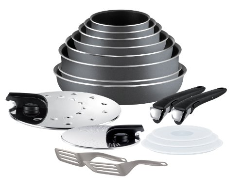 Tefal-L0289702-Ingenio-5-Set-de-cocina-de-17-piezas-de-aluminio-antiadherente-cacerola-sartn-wok-tapas-y-accesorios-color-gris