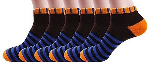 Silkworld Women'S Cotton 6 Pack Sport Crew Terry Socks Brown