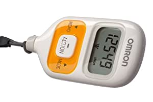 Omron Walking Style III Pedometer - Orange