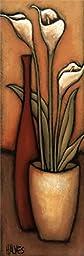 12W x 36H Copo-de-Leite by H. Alves - Stretched Canvas w/ BRUSHSTROKES