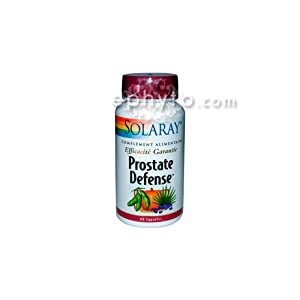 Solaray - Prostate defense - 60 capsules - Protection de la sphère urinaire masculine