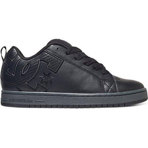 dc-shoes-mens-court-graffik-se-black-leather-trainers-10-us