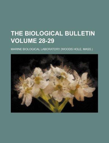 The Biological bulletin Volume 28-29