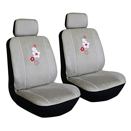 Leader Accessories Blooms Full Set Seat Cover 9 Pcs Lb