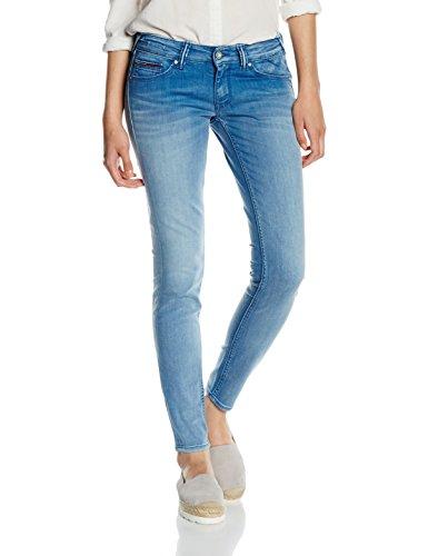 Tommy Hilfiger LOW RISE SKINNY 7/8 SOPHIE AZST, Jeans da Donna, Blu (Azur Stretch 911), W28/L30