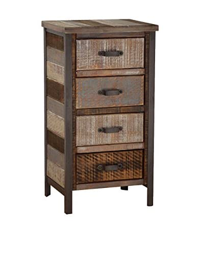 Gallerie Décor Soho Accent Cabinet, Beige