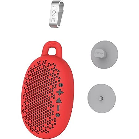 BOOM Oursin prêt Anything 4 haut-Parleur Bluetooth Rouge