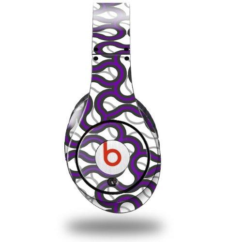Locknodes 01 Purple Decal Style Skin (Fits Original Beats Studio Headphones - Headphones Not Included)