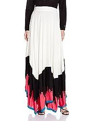 W for Woman Women's Skirt (16FE55150-11482_Multicolor_WL)