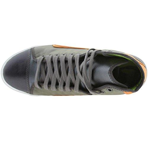 PF Flyers Men's Glide     Sneaker,Slate,9 M