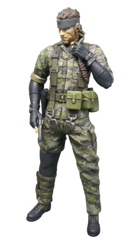 Picture of Diamond Comics Metal Gear Solid 3: Snake Tiger Camo Version Action Figure (B001VE67E2) (Diamond Comics Action Figures)