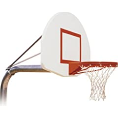 Buy First Team Ruffneck Max In-Ground Basketball Hoop with 54 Inch Aluminum Backboard by First Team