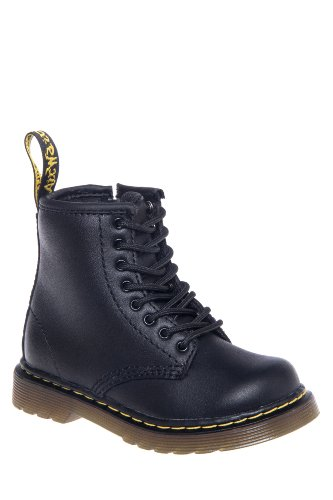 Dr. Martens Toddler's Brooklee Softy T Combat Boot