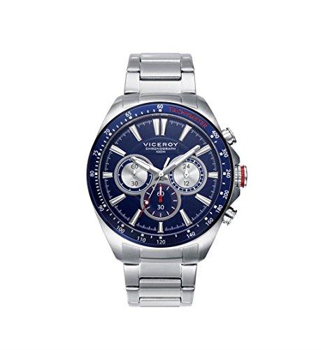 Blue Man Orologio Viceroy 46649-37 Acciaio Cronografo