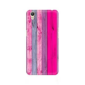 Ebby Pink Wood Shade Premium Printed Case For Oppo A37