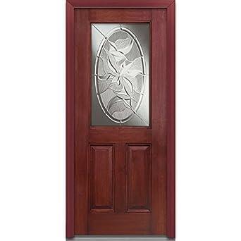 National Door Company EFM684LI28LHWCH Fiberglass Prehung Left Han