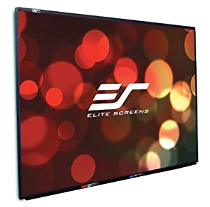 Elite Screens WB87XW WhiteBoardScreen Universal Series Projection Screen (88 Inch 16:10 AR)