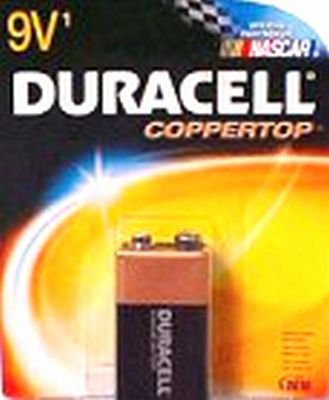 Duracell Piles 9 V USA Coppertop (Ensemble de 6)