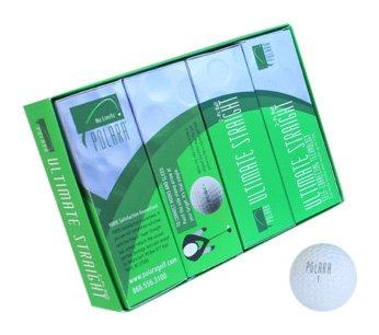 Imagen de Polara Auto Corrección última recta 2 pelotas de golf pieza (1 Docena)