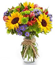 Big Sale Flower Delivery - Fall Floral Garden Bouquet - Flowers