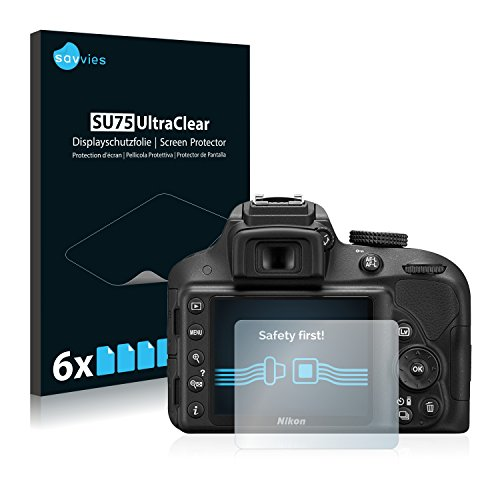 Protector Pantalla Transparente para Nikon D3300