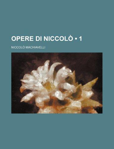 Opere Di Niccolò (1)