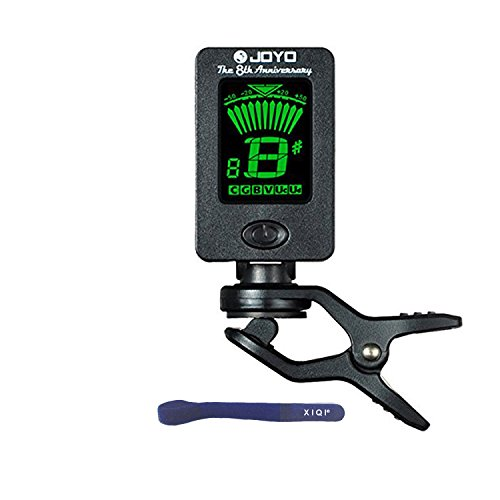 Lcd Clip-On Guitar Bass Violin Ukulele Chromatic Electronic Tuner Tuning Jt-01