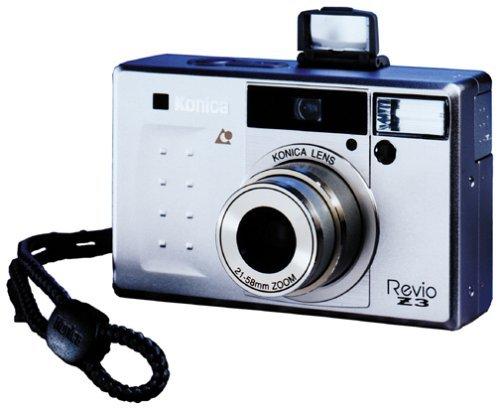 Konica Revio Z3 Gold APS Camera w/ Remote Control