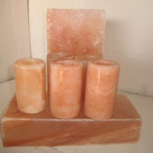 Authentic Himalayan Salt Shot Glasses - 4 Pack!