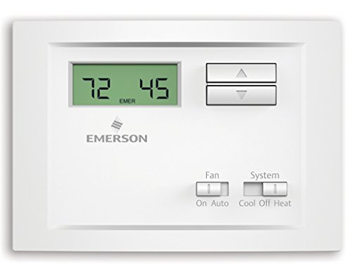 Emerson NP110 Non-Programmable Single Stage Thermostat (4 Stage Thermostat compare prices)