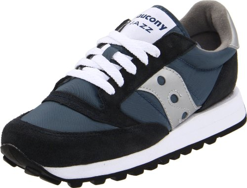 SAUCONY ORIGINALS - Saucony Jazz Original Women, Sneaker Donna, Blu (Navy/Silver), 37 1/9