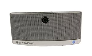 Spracht Aura BluNote Portable Wireless Speaker System with Bluetooth Connectivity
