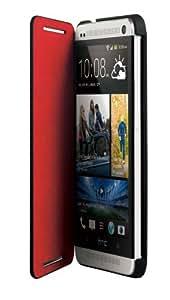 HTC HC V841 Coque à rabat Double Dip Flip pour HTC One Noir