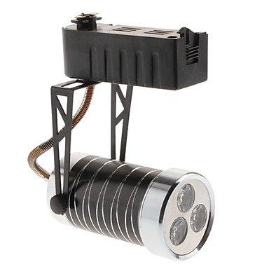 3W 250-280Lm 3000-3500K Warm White Light Black Shell Led Orbit Lamp (85-265V)