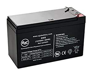 Ritar RT1290, RT 1290 12V 9Ah UPS Battery - This is an AJC Brand® Replacement