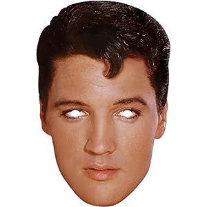 Elvis Presley Celebrity Cardboard Mask - Single