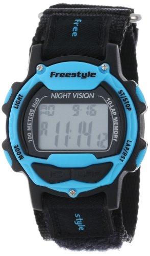 Freestyle Unisex 102282 Predator Blue Detail Digital Canvas  Velcro Watch