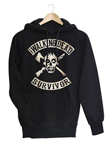 Felpa donna Walking Dead 7 Survivor, XL