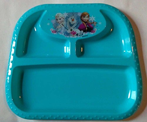 Disney Frozen ELSA OLAF ANNA Section Divided Dinner Platter