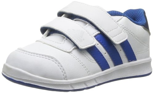 Adidas Performance Unisex-Child LK Trainer 5 CF I-3 Running Shoes D67593 Running White FTW/Blue Beauty/Collegiate Navy 8.5 UK, 26 EU